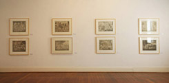 Installation Photo by Leon Kossoff at Annandale Galleries