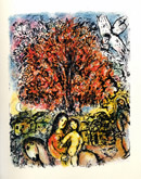 The Holy Family by Marc Chagall at Frances Keevil Gallery