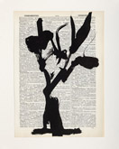 Untitled (Ref. No. 45 / Tree V) by William Kentridge at Annandale Galleries