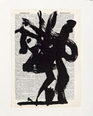 Untitled (Ref. No. 43 / Tree I) by William Kentridge at Annandale Galleries