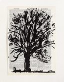 Untitled (Ref. No. 42 / Tree IV) by William Kentridge at Annandale Galleries
