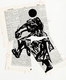 Untitled (Ref. No. 34 / Torn Figure) by William Kentridge at Annandale Galleries