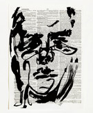 Untitled (Ref. No. 32 / Self Portrait) by William Kentridge at Annandale Galleries