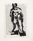 Untitled (Ref. No. 30 / Full Male Nude) by William Kentridge at Annandale Galleries