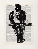 Untitled (Ref. No. 27 / Bird III) by William Kentridge at Annandale Galleries