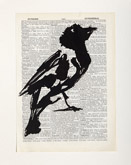 Untitled (Ref. No. 25 / Bird V) by William Kentridge at Annandale Galleries