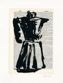 Untitled (Ref. No. 10 / Coffee Pot X) by William Kentridge at Frances Keevil Gallery