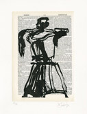 Untitled (Ref. No. 9 / Coffee Pot IX) by William Kentridge at Annandale Galleries