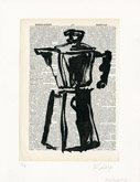 Untitled (Ref. No. 8 / Coffee Pot VIII) by William Kentridge at Annandale Galleries