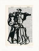 Untitled (Ref. No. 5 / Coffee Pot V) by William Kentridge at Annandale Galleries