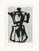 Untitled (Ref. No. 1 / Coffee Pot I) by William Kentridge at Frances Keevil Gallery