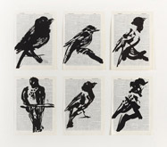 Bird III (Combination) by William Kentridge at Annandale Galleries