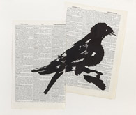 Bird II (Combination) by William Kentridge at Annandale Galleries