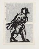 Bird I (Combination) by William Kentridge at Annandale Galleries