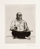 Scribe by William Kentridge at Annandale Galleries