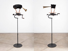 Kinetic Sculpture / Bellows by William Kentridge at Annandale Galleries