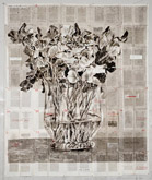 Sweetpeas by William Kentridge at Annandale Galleries