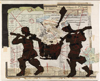 Tableau des Finances et du Commerce de la partie Francoise de St Domingue by William Kentridge at Annandale Galleries