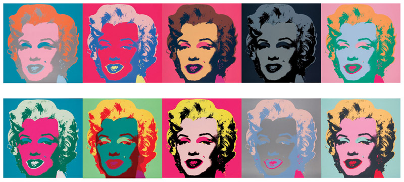 Works by Warhol at Annandale Galleries