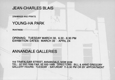 Invitation by Young-Ha Park at Annandale Galleries