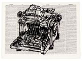 Universal Archive (Ref. 61) by William Kentridge at Annandale Galleries