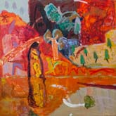 Ndhala Gorge 3  by Sally Stokes at Annandale Galleries
