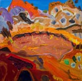 Wolfe Creek Crater  by Sally Stokes at Annandale Galleries
