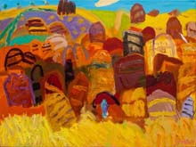 Purnululu 3 by Sally Stokes at Annandale Galleries