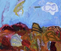 Clouds in the Desert  by Sally Stokes at Annandale Galleries