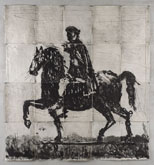 Marcus Aurelius by William Kentridge at Annandale Galleries