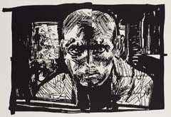 Jack by William Kentridge at Annandale Galleries