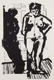 Her Shadow by William Kentridge at Annandale Galleries