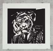 Tiger by William Kentridge at Annandale Galleries