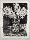 Bunch of Flowers in a Vase by William Kentridge at Annandale Galleries