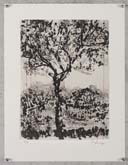 Untitled (Tree in a Landscape) by William Kentridge at Annandale Galleries