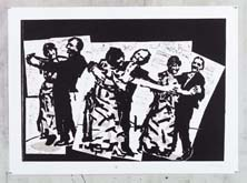 The Dancers by William Kentridge at Annandale Galleries