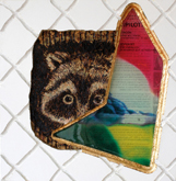 HAUSER & WORTH & a rascally raccoon #1 by Aaron Anderson at Annandale Galleries